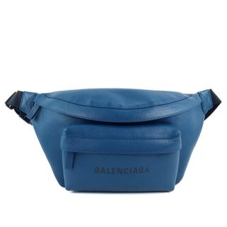 バレンシアガ(Balenciaga)のバレンシアガ エブリデイ 552375 カーフ 青 ユニセックス ボ(ボディバッグ/ウエストポーチ)