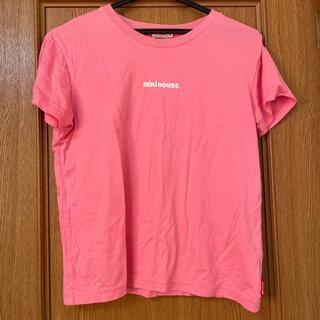 ミキハウス(mikihouse)のミキハウス ピンクtシャツ(Tシャツ(半袖/袖なし))
