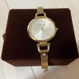 FOSSIL - FOSSIL 腕時計 ゴールド