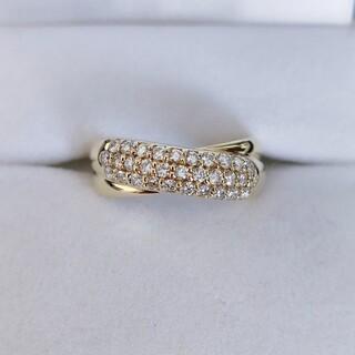 ポンテヴェキオ(PonteVecchio)のルーベンス様専用 ポンテヴェキオ パヴェ ダイヤモンド リング K18YG(リング(指輪))