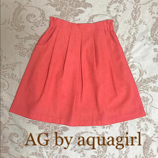 エージーバイアクアガール(AG by aquagirl)のAG by aquagir  スカート Mサイズ(ひざ丈スカート)