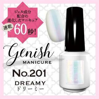 Cosme Kitchen - ジーニッシュ マニキュア No.201 ドリーミー Genish DREAMY