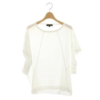 ドゥロワー(Drawer)のドゥロワー ワイドスリーブTシャツ カットソー 半袖 1 白 ホワイト(その他)