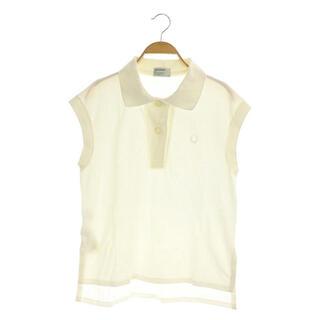 フレッドペリー(FRED PERRY)のフレッドペリー × マーガレットハウエル ノースリーブポロシャツ 白 ホワイト(その他)