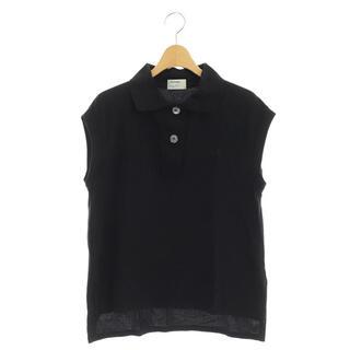 フレッドペリー(FRED PERRY)のフレッドペリー × マーガレットハウエル ノースリーブポロシャツ 黒 ブラック(その他)