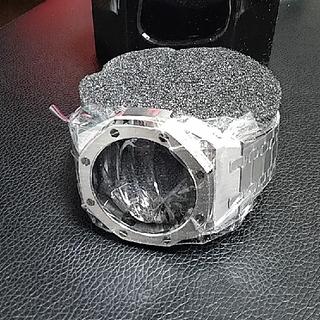 ジーショック(G-SHOCK)のセール GA-2100 カシオーク 第三世代 カスタム ジーショック シルバー(金属ベルト)