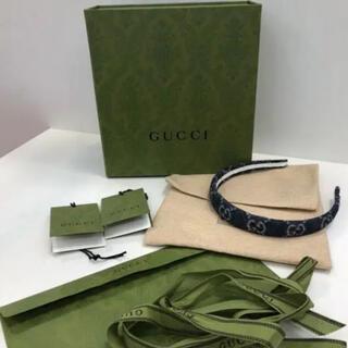 グッチ(Gucci)のグッチ デニムカチューシャ(カチューシャ)