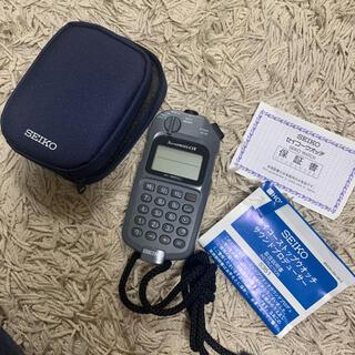 SEIKO - セイコー サウンドプロデューサー ストップウォッチ S351-4A00