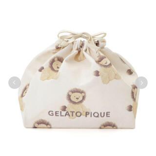 ジェラートピケ(gelato pique)のgelato pique  アニマル柄巾着M(その他)