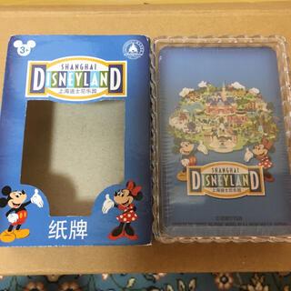 上海ディズニー ディズニーリゾート 新品未使用 トランプ ミッキー   ミニー(キャラクターグッズ)