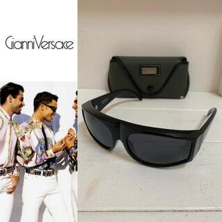 ジャンニヴェルサーチ(Gianni Versace)のGIANNI VERSACE VINTAGE 80s BASIX サングラス(サングラス/メガネ)