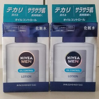 ニベア(ニベア)のニベアメン  オイルコントロールローション    2本(化粧水/ローション)