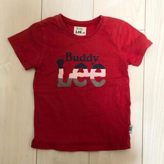 バディーリー(Buddy Lee)のバディーリー buddy lee カットソー tシャツ 100 レッド 赤 半袖(Tシャツ/カットソー)