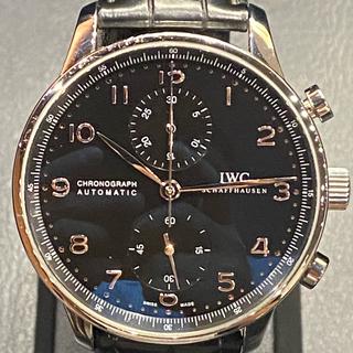 インターナショナルウォッチカンパニー(IWC)の【中古品】IWC ポルトギーゼ クロノグラフ IW371447(腕時計(アナログ))