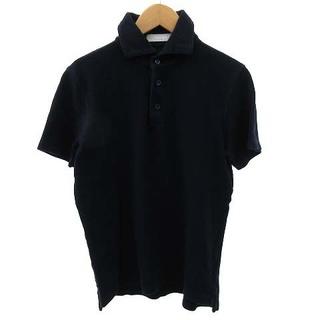 クルチアーニ(Cruciani)のクルチアーニ ポロシャツ 半袖 ワイドカラー 鹿の子 コットン 44 S(ポロシャツ)