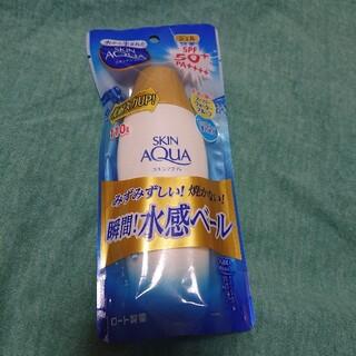 ロートセイヤク(ロート製薬)のスキンアクア スーパーモイスチャージェル(110g)(日焼け止め/サンオイル)