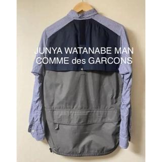 ジュンヤワタナベコムデギャルソン(JUNYA WATANABE COMME des GARCONS)の19awのジュンヤワタナベマン シャツ(シャツ)