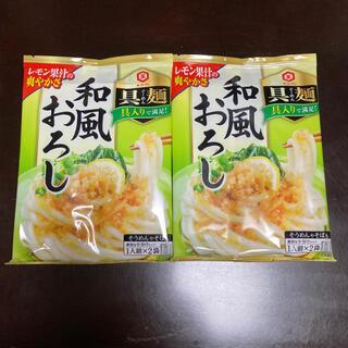 キッコーマン(キッコーマン)の具麺(ぐーめん)  和風おろし 2袋セット(レトルト食品)