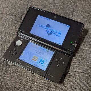 ニンテンドー3DS(ニンテンドー3DS)のニンテンドー3DS コスモスブラック(携帯用ゲーム機本体)