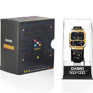 カシオ スタンダード パックマンコラボモデル A100WEPC-1BJR(腕時計(デジタル))