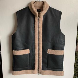 Needles - 【極美品】 19AW Zipped Tibetan Vest-Boa M