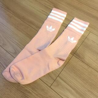 adidas - 【新品】アディダス🧦ピンク靴下