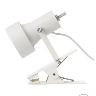 ムジルシリョウヒン(MUJI (無印良品))の無印良品  クリップライト  新品未使用  リビングやデスク、間接照明に(テーブルスタンド)
