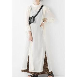 マルタンマルジェラ(Maison Martin Margiela)のMAISON EUREKA  RETRO MAXI DRESS BLOUSE(ロングワンピース/マキシワンピース)