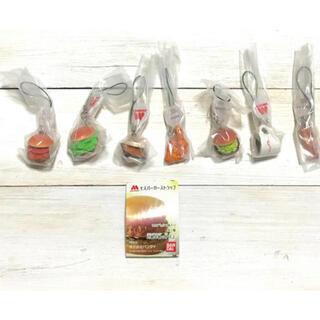 バンダイ(BANDAI)のぴら様専用 モスバーガー ストラップ ハウス食品ストラップ  ガチャ(ストラップ/イヤホンジャック)