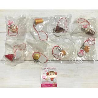 バンダイ(BANDAI)のバンダイ 不二家のケーキストラップ 全8種 ミニチュア 食品サンプル(ストラップ/イヤホンジャック)