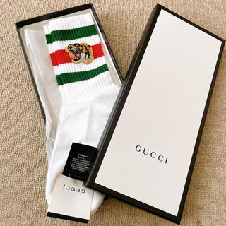 Gucci - GUCCI 靴下 虎 タイガー