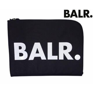 ワイスリー(Y-3)の【大人気】BALR. ボーラー クラッチバッグ ポーチ  ブラック(セカンドバッグ/クラッチバッグ)