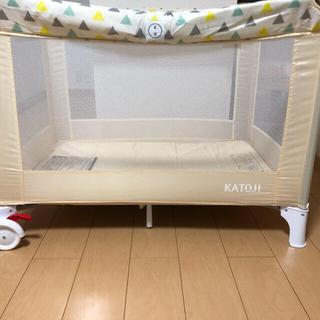 KATOJI - 折り畳みベビーベット、おもちゃまとめ売り