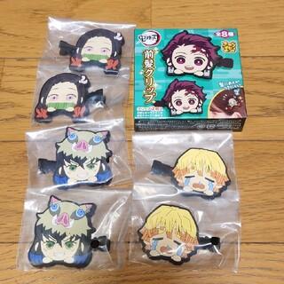 バンダイ(BANDAI)の新品♥鬼滅の刃 前髪クリップ 3セット(バレッタ/ヘアクリップ)