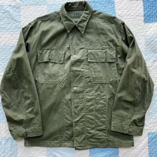 コモリ(COMOLI)の1940s U.S.ARMY アメリカ軍 HBT ヘリンボーン 13スターボタン(ミリタリージャケット)
