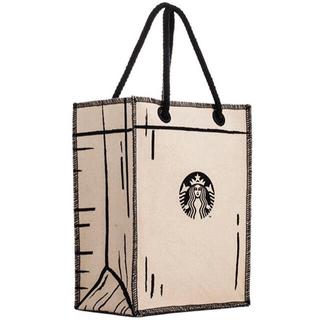 スターバックスコーヒー(Starbucks Coffee)のレア 台湾限定 スターバックストートバッグ サイレン(トートバッグ)