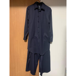 Yohji Yamamoto - 袴パンツ&ロングシャツ ground y