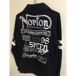 Norton - Norton シルバー刺繍 スウェット ジャケット
