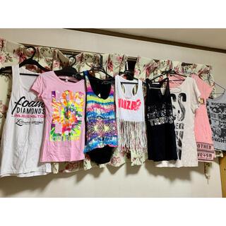 マテリアルガール(MaterialGirl)のTシャツ8点おまとめ売り(Tシャツ(半袖/袖なし))