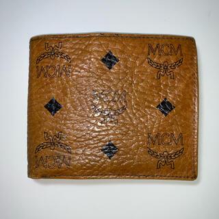 エムシーエム(MCM)のMCM 折りたたみ財布 レディース ブランド(財布)