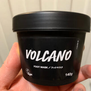 ラッシュ(LUSH)のLUSH 火山マスク(フットケア)
