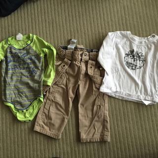 ティンバーランド(Timberland)のティンバーランド ディーゼル ベビー服 12ヶ月 セット(ロンパース)