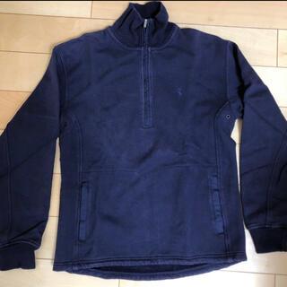 ラルフローレン(Ralph Lauren)のラルフローレン ゴルフ用 紺色 襟付きトレーナー(ウエア)