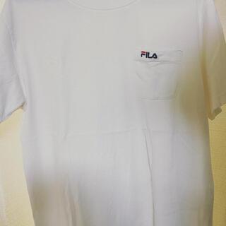 フィラ(FILA)のFILA ホワイト tシャツ カットソー(Tシャツ/カットソー(半袖/袖なし))