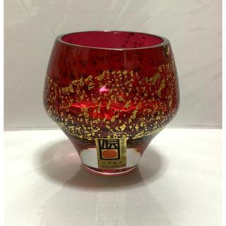 東洋佐々木ガラス - 江戸硝子 紅玻璃 冷酒杯