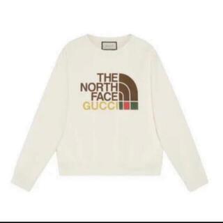 グッチ(Gucci)の正規品新品Gucci the north face スウェット トレーナー L(スウェット)