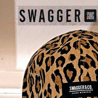 スワッガー(SWAGGER)の【swagger】レオパードリバーシブル迷彩cap(キャップ)