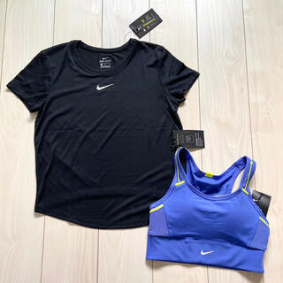 NIKE - 新品 NIKE ウィメンズ  Tシャツ スポーツブラ M トレーニング ヨガ