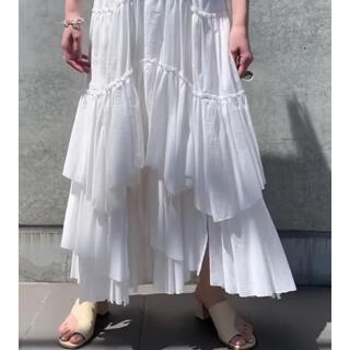 ドゥロワー(Drawer)のmelon121様専用☆☆  CASAFLINE コットンティアードスカート(ロングスカート)