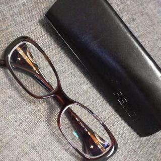 フェンディ(FENDI)の482 S 超美品 F847 フェンディ FENDI メガネ 度付き(サングラス/メガネ)